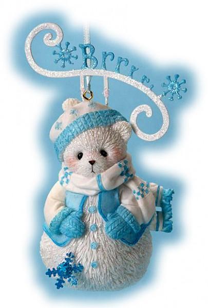 Cherished Teddies, Brr Snowbear, Ornament, Anhänger