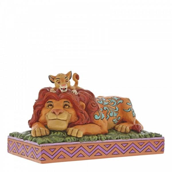 Jim Shore, Disney Traditions, Walt Disney, A Father's Pride, Simba & Mufasa König der Löwen, The Lion King, Simba, Mufasa, 6000972