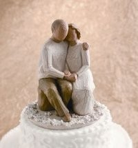 Willow Tree, Willowtree, Demdaco, Susan Lordi, Anniversary Cake Topper