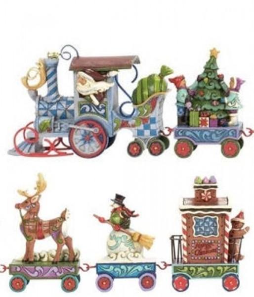 Heartwood Creek, Jim Shore, The North Star Express, Weihnachtsmann im Zug