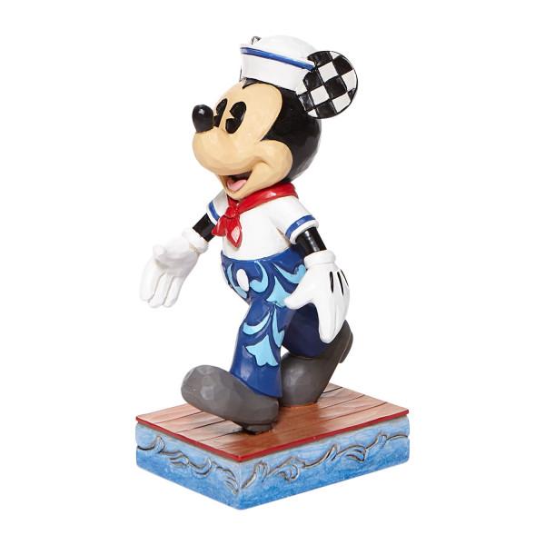Disney Traditions, Jim Shore, Jim Shore Disney, Jim Shore Disneyfigur, Jim Shore Disney Figur, Snazzyy Sailor, Schicker Seemann, Schicker Matrose, Mickey Mouse, Micky Maus, Matrose, 6008079
