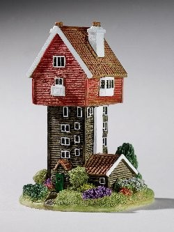 Lilliput Lane, Miniaturhäuser, Miniaturhaus, Cottage, House in the Clouds