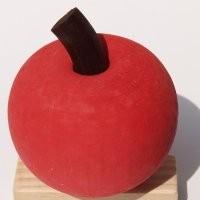 Apfel rot für Kerzenring 510