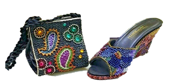 Just the right shoe, Raine, Beverly Feldman Limited Edition Collector Set Schuh und Tasche, 25752