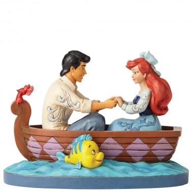Disney Traditions, Jim Shore - Waiting For A Kiss / Arielle, Ariel im Boot