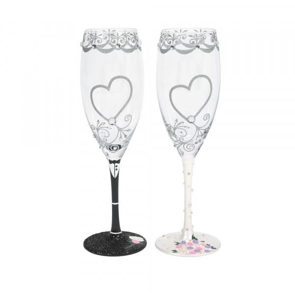 Lolita, Lolita Gläser, Lolita Glas, Lolita Weingläser, Lolita Weinglas, Lolita Prosecco, 6007478, Mr. & Mrs. Toasting Glasses Set, Mr. & Mrs. Toasting Prosecco Glasses Set
