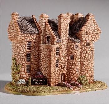 Lilliput Lane, Miniaturhäuser, Miniaturhaus, Cottage, Claypotts Castle