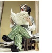 Gilde Handwerk, Gilde Clowns, Zeitungsleser