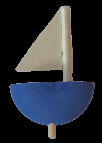 Schiff blau für die kleinen Kerzenringe von Sebastian Design, 348-134